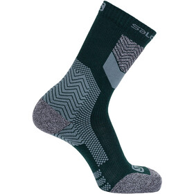 Salomon Outpath Chaussettes en laine, green gables/balsam green